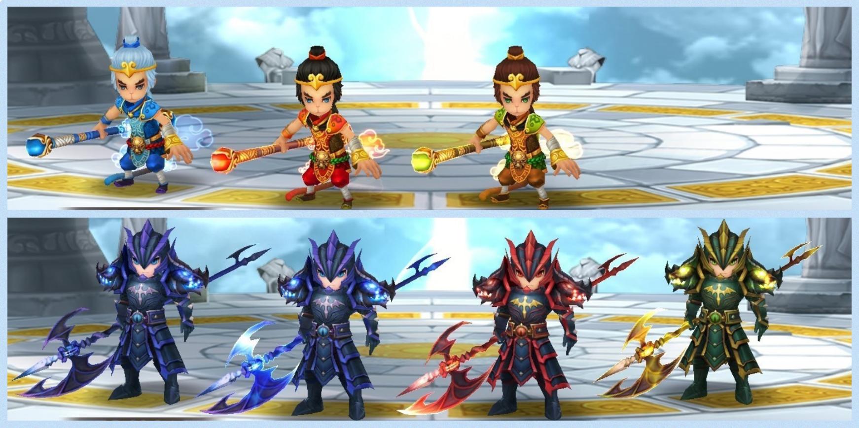孫悟空 ドラゴンナイト 3兄弟