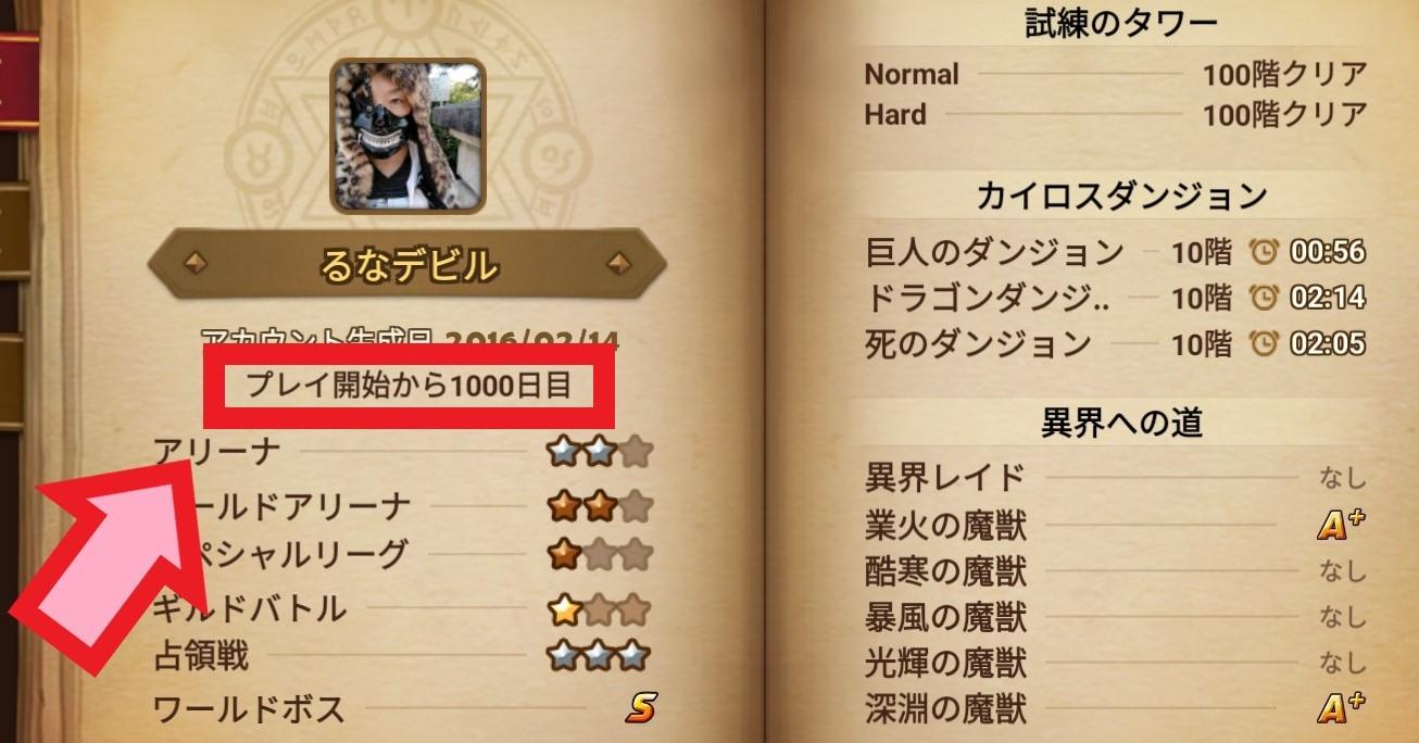 サマナーズウォー プレイ1000日 バチった☆4モンスター